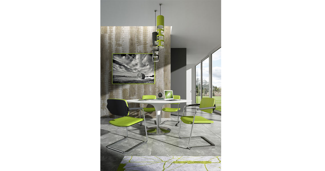 Meeting Room Chairs Conference Table Seating Leyform