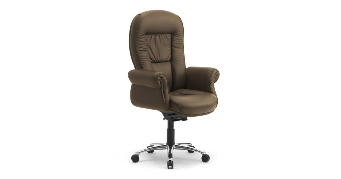 classic office chairs. Executive-classic-office-chairs-w-upholstered-arms-doge- Classic Office Chairs