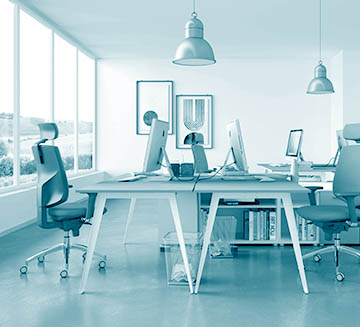 Operational armchairs for task office workstation