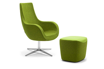 Contemporary design lounge sofas armchairs for shops, salons and stores furniture Victoria
