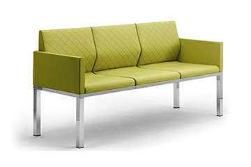 Design waiting armchairs sofas for office entrance hall, lobby, reception TRE-DI