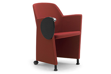 Stacking armchairs for office lobby, entrance hall, reception and waiting area Viviana
