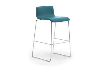 4 legs stools with footrest for cuisine bar island Zerosedici