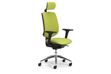 Brand new modern design office seats with headrest Active
