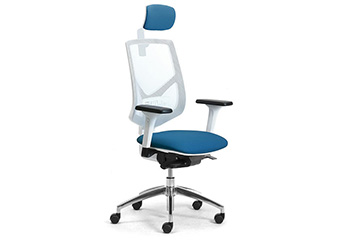 Ergonomic mesh office chairs with headrest and armrests Active RE