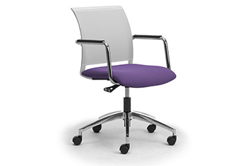Design office task chair for meeting table Cometa