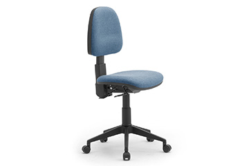 Task seating with castors for operative offices Comfort Jolly