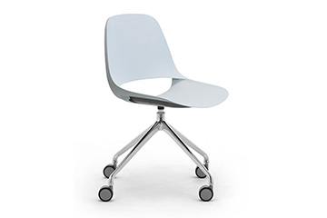 A new operative chair for meeting tables and workstation desks Cosmo