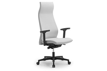 High back armchairs with headrest and adjustable arms for contemporary office furniture Energy