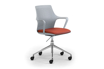 Innovative design task chairs with arms and padded seat IPA