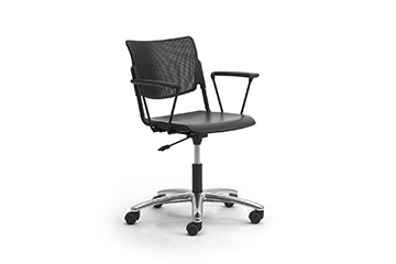 Operative chairs with metal or polypropylene seat and back LaMia