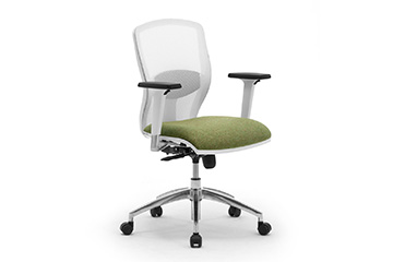 white or grey task office chairs with mesh Sprint-RE