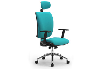 High back task office chairs with headrest and armrests Sprint X