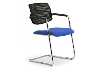 Cantilever visitor chairs for ffice desk Laila Relax