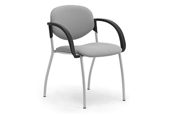 Stacking dining chairs with wide comfortable armrests Wendy