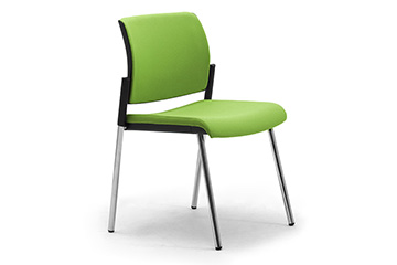 Visitor chairs for reception areas, waiting and meeting rooms Wiki 4 legs
