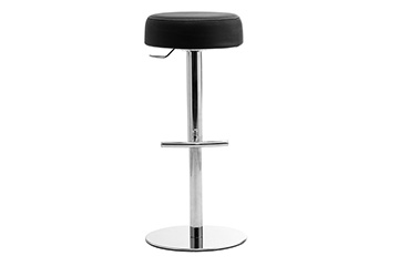 Modern design stools with upholstered seat + footrest for churches, cathedrals, chapels Punto