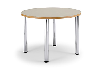 Library tables with adjustable height legs for school and classroom furniture Arno-3