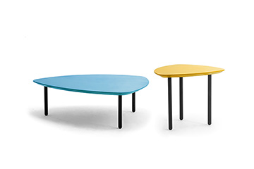 Modern colorful coffee tables for living rooms and lounge areas Eos