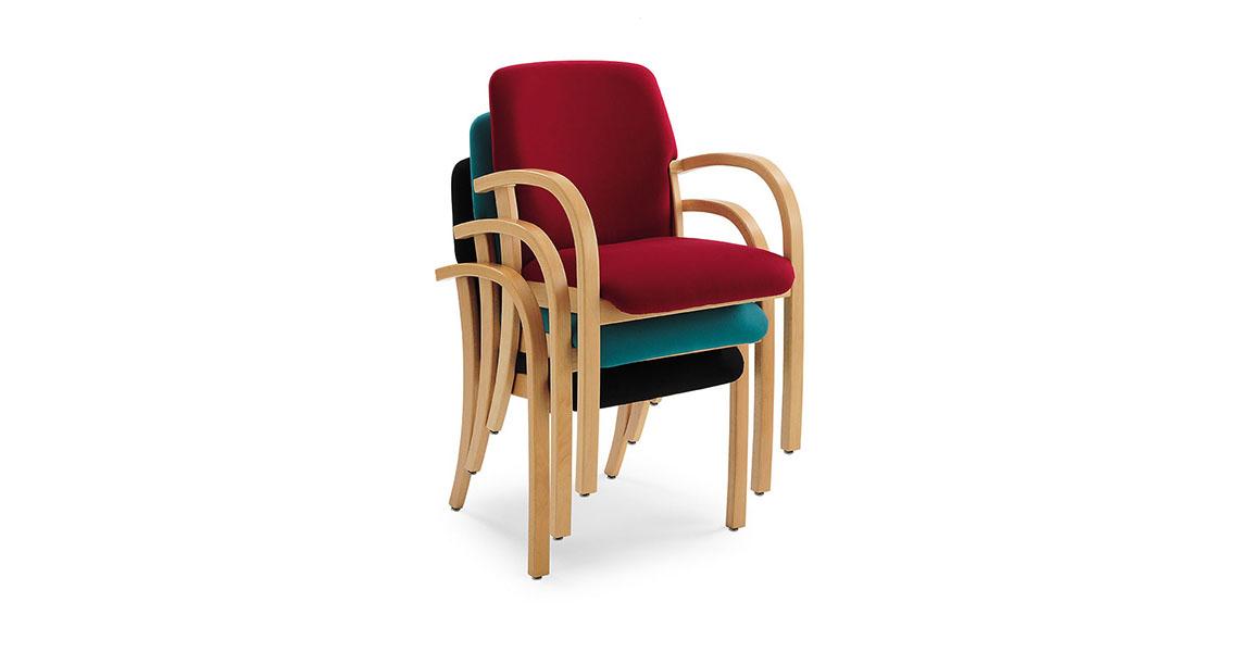 sedie impilabili per conferenze e sale polivalenti leyform