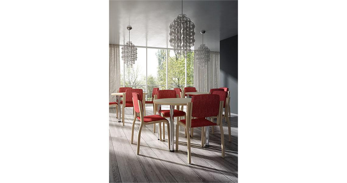 Sedie sgabelli e tavoli per l 39 arredo religioso chiesa ed for Arredo sacro