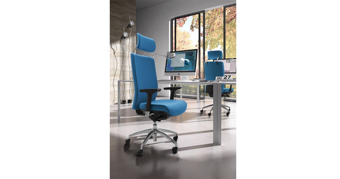Sedie per arredo ufficio leyform - Sedie per ufficio ergonomiche ...