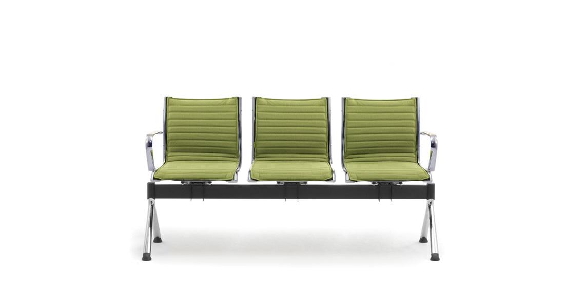 Sedie su panca per sala d 39 attesa studio notarile o for Sedia per sala d attesa