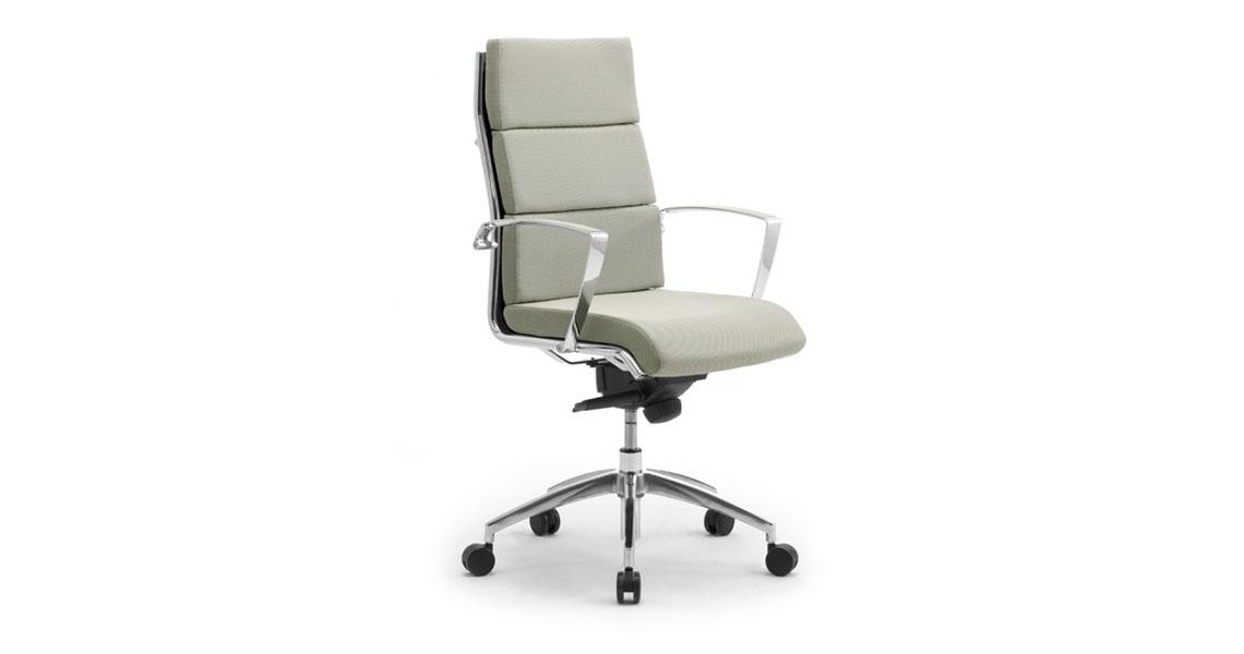 poltrona e sedia direzionale da ufficio sedute