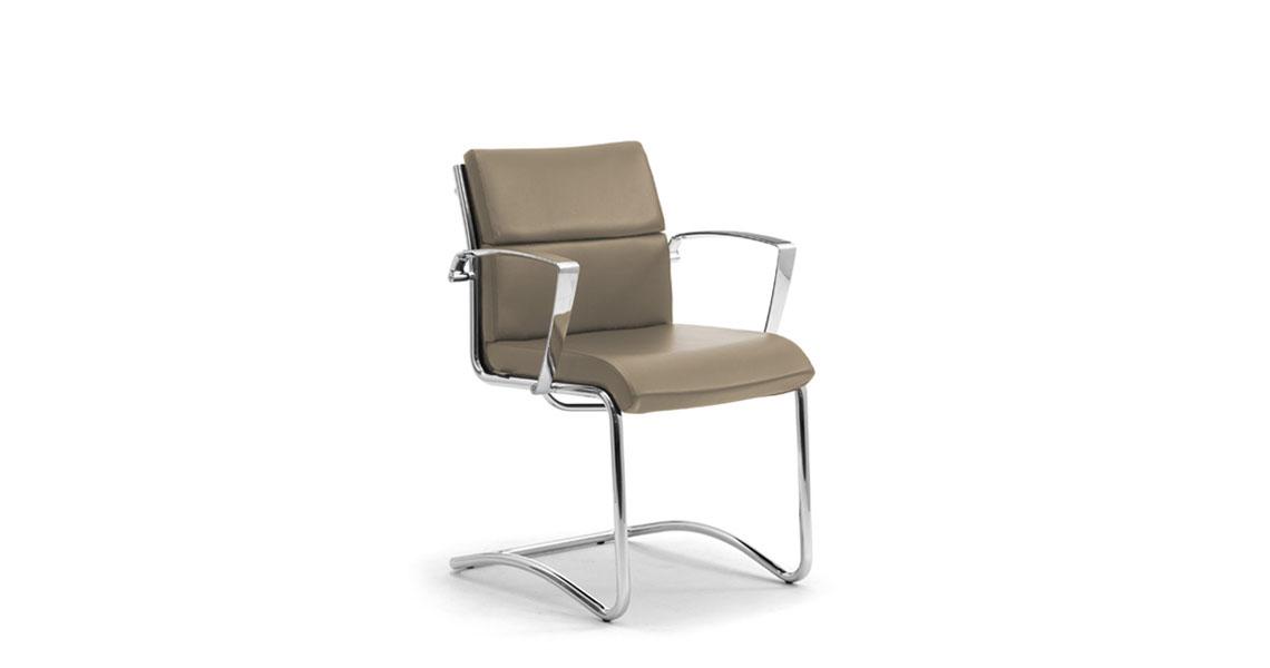 sedia ufficio girevole regolabile senza ruote