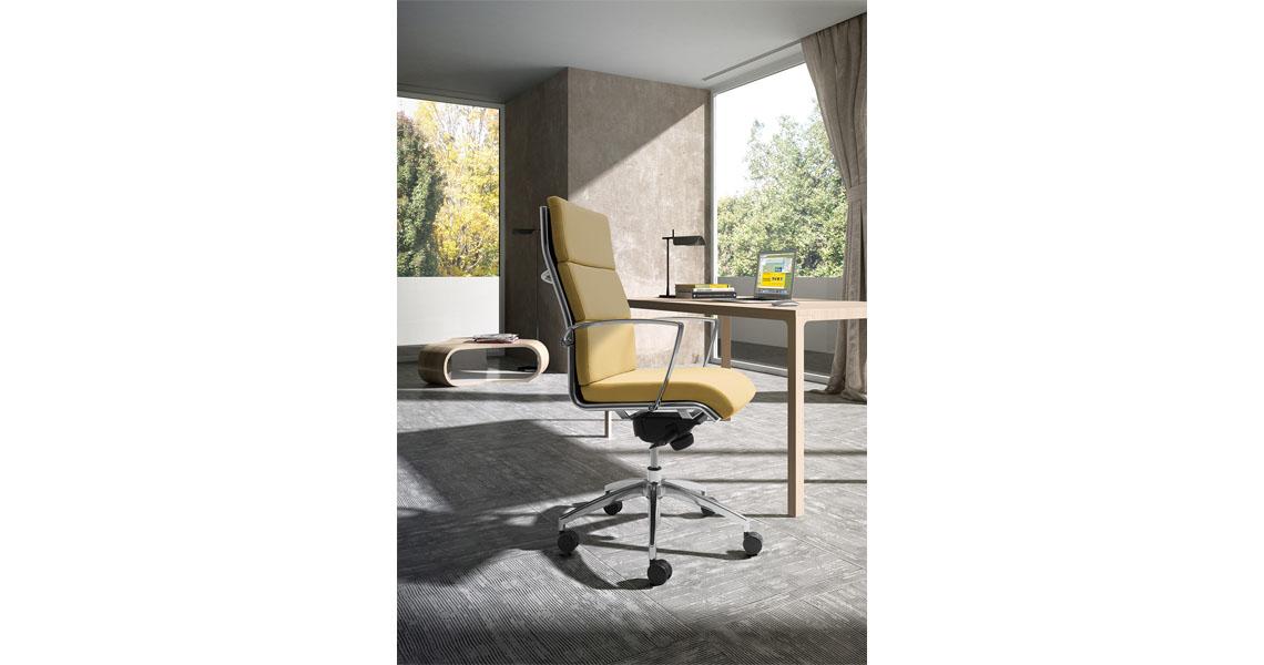 Poltrona e sedia direzionale da ufficio sedute for Sedute per ufficio prezzi