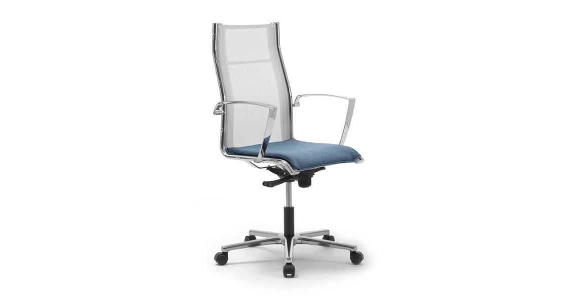 Poltrone in rete per sala attesa studio professionale - Sedie e poltrone ufficio ...