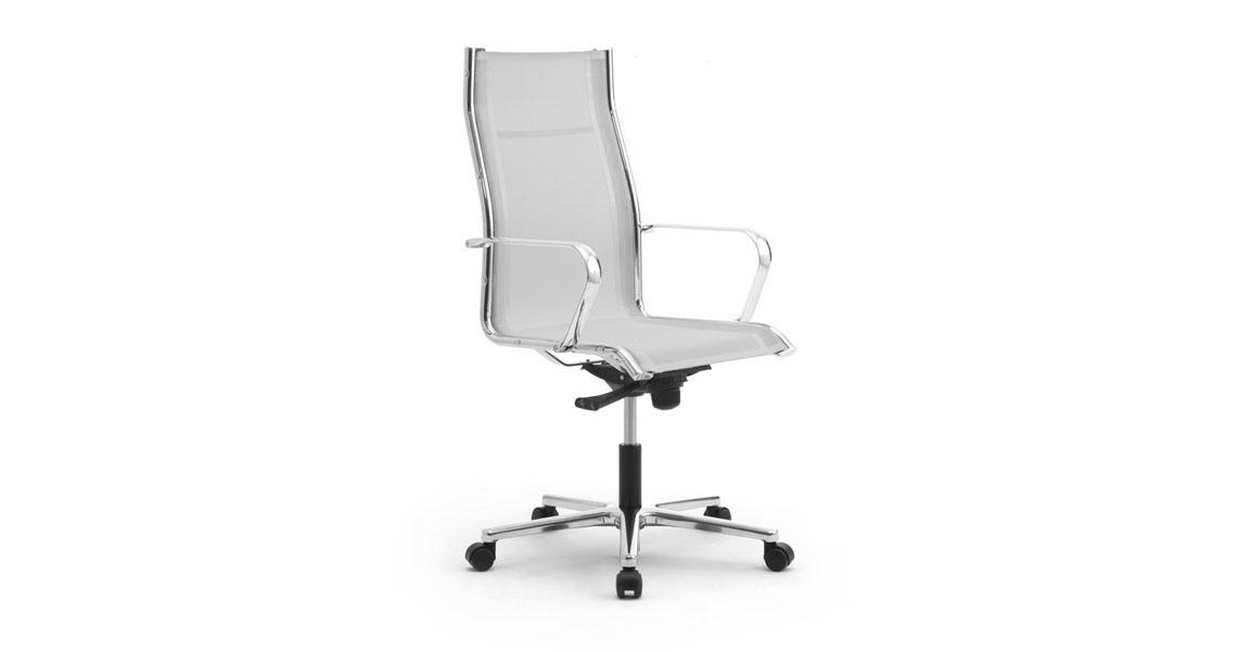 Sedie in rete per studio ufficio e sala attesa - Leyform