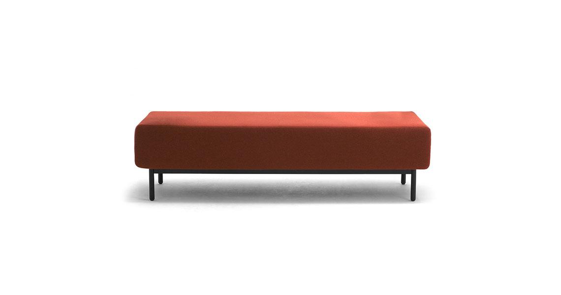 Panche e divani attesa con presa USB per arredo negozio - Leyform
