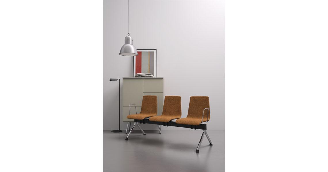 Panche per arredo atrio, ingresso e sala attesa - Leyform