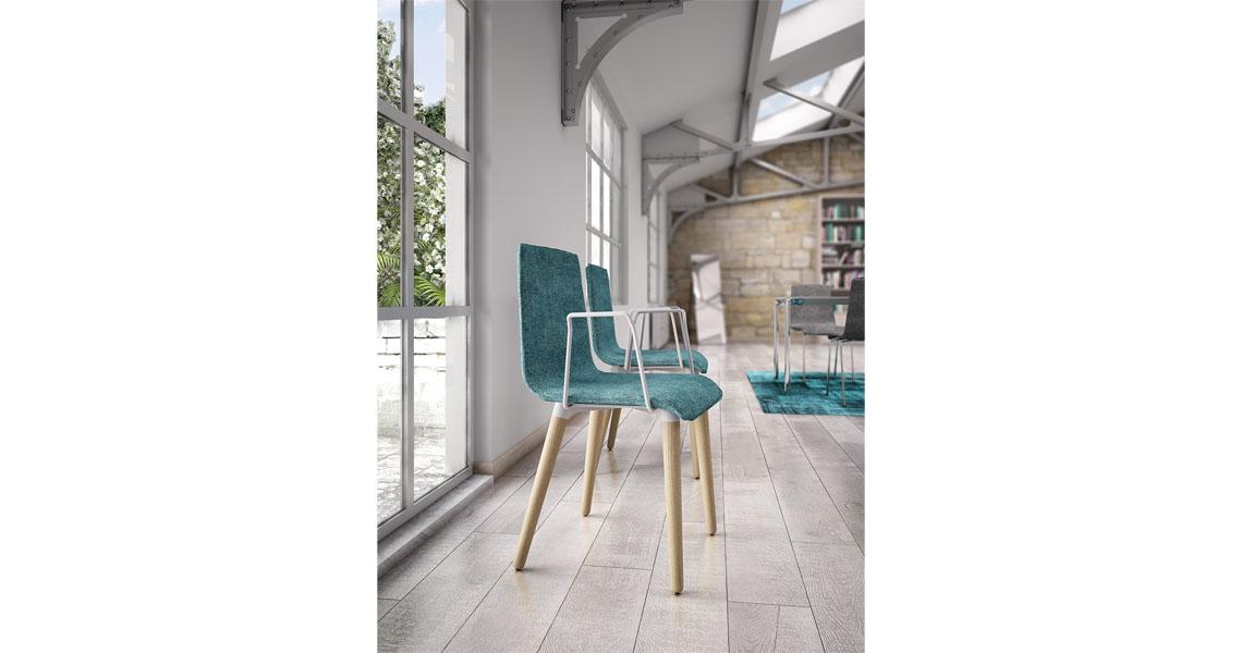 Sedie per cucina zona living atrio e ingresso leyform for Sedie living design