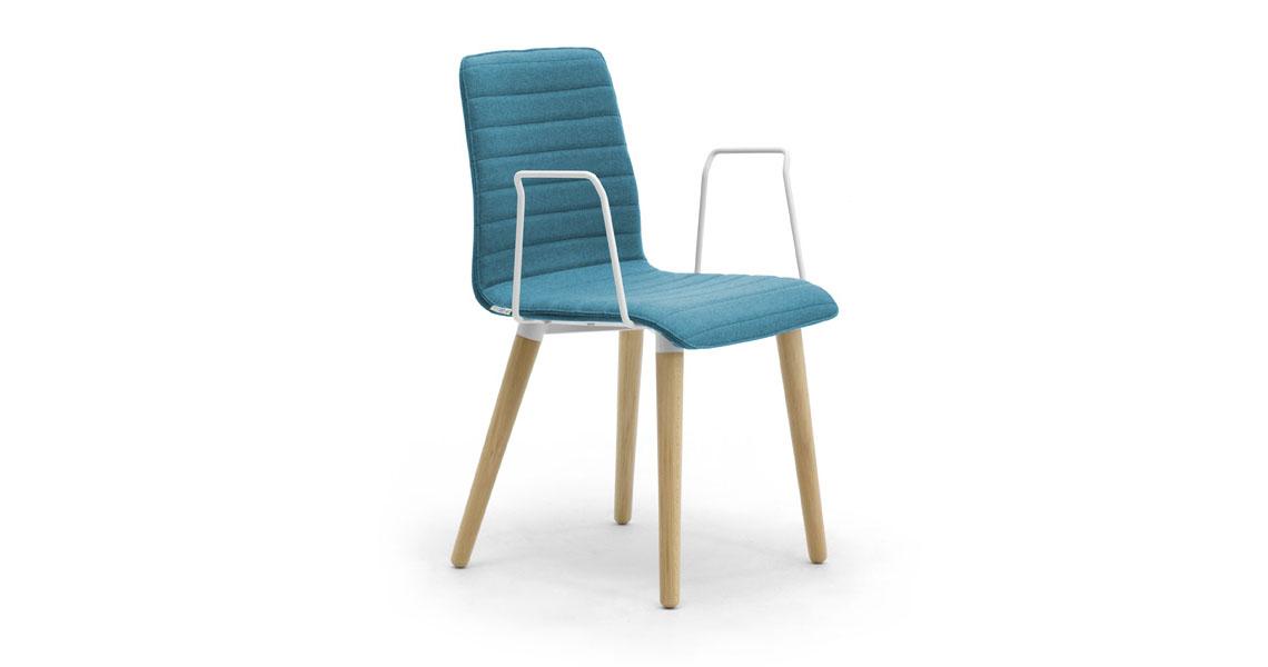 Sedie per cucina, zona living, atrio e ingresso - Leyform