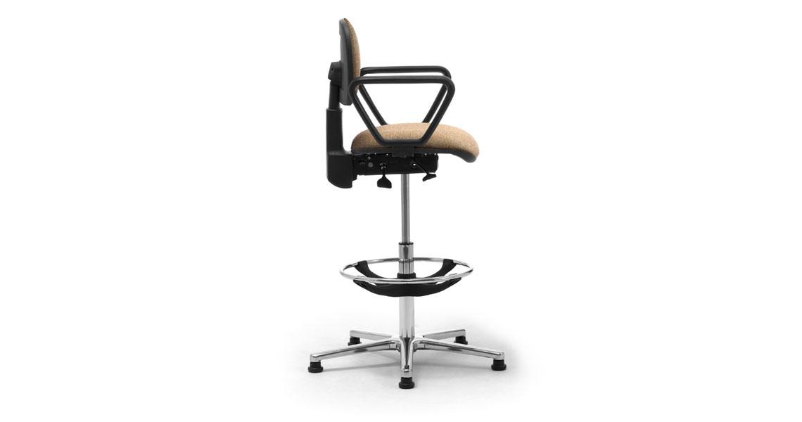 Piedini Per Sedie Da Ufficio.Sedie Alte E Sgabelli Per Cassa E Postazioni Di Lavoro Leyform