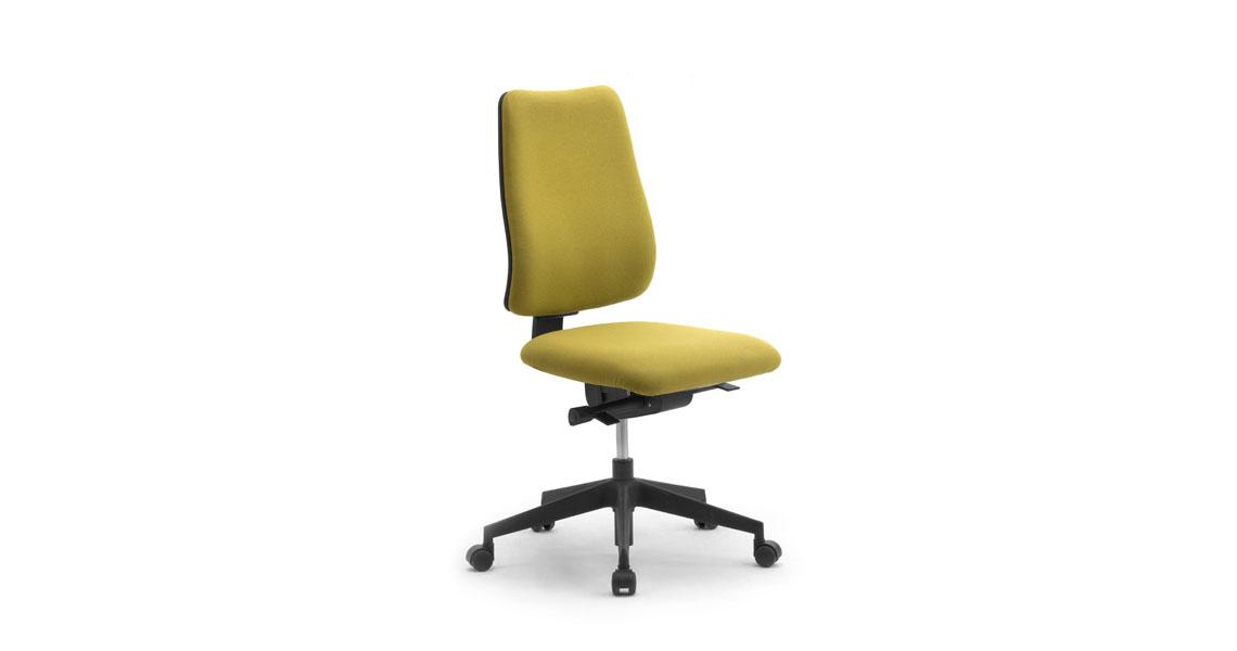 Sedia ufficio pc da lavoro a norma d lgs 81 2008 leyform for Ufficio lavoro