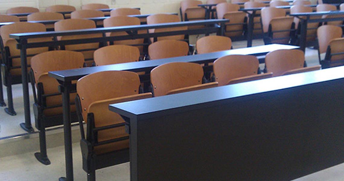 Sedie e banchi studio per aula formazione e didattica ...