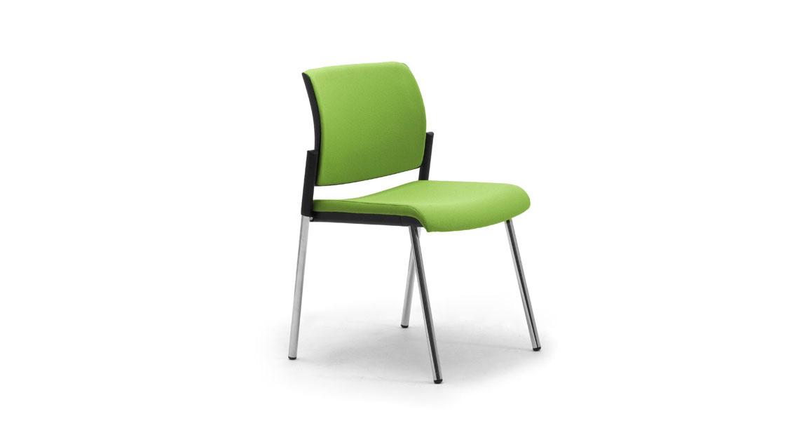 Sedie per reception sala attesa e visitatori - Leyform