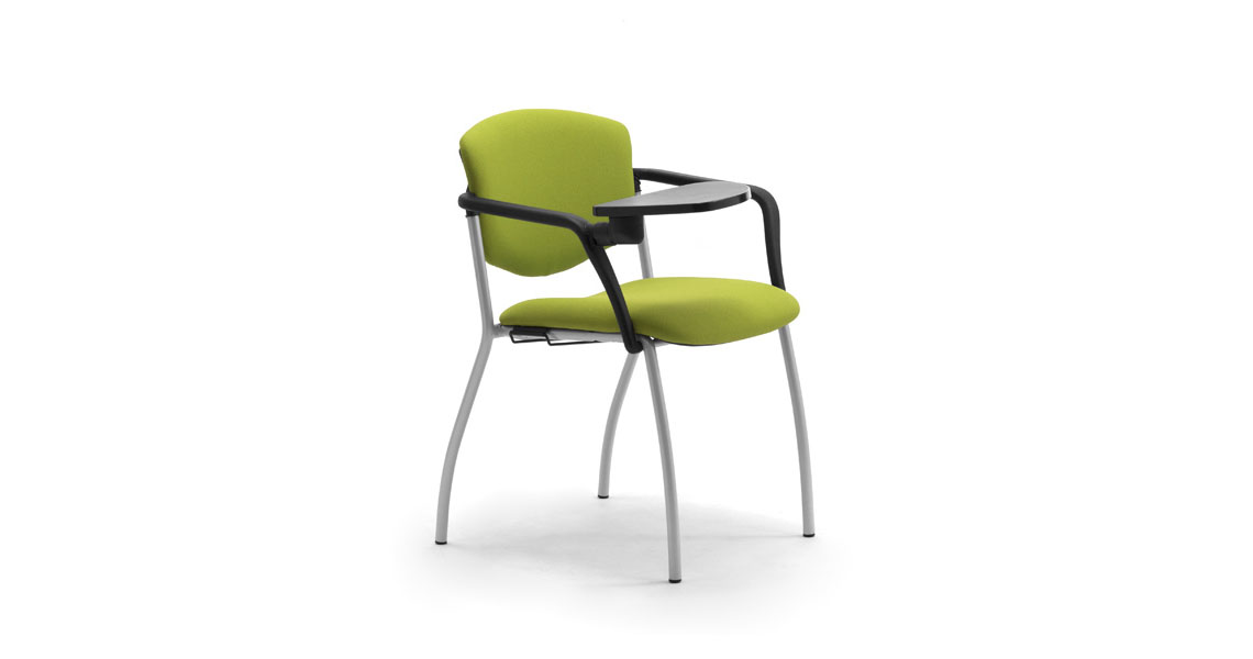 Sedie Per Sala Corsi Convegni E Congressi Con Ribaltina Leyform