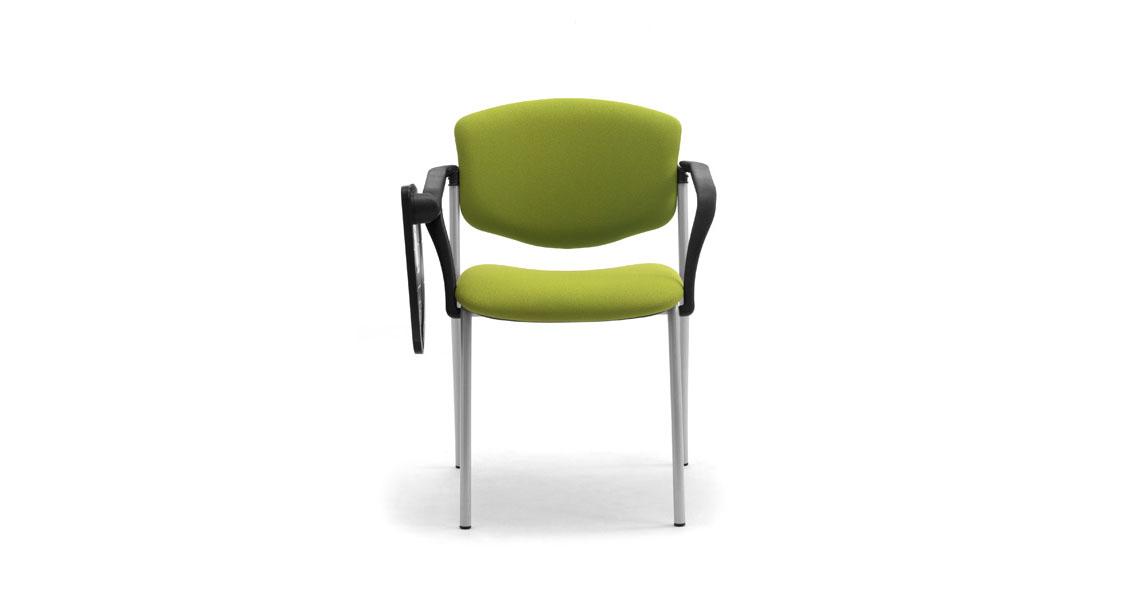 Sedie Conferenze Dwg: Sedie con tavoletta a ribaltina leyform. Sedie per sala corsi convegni e ...