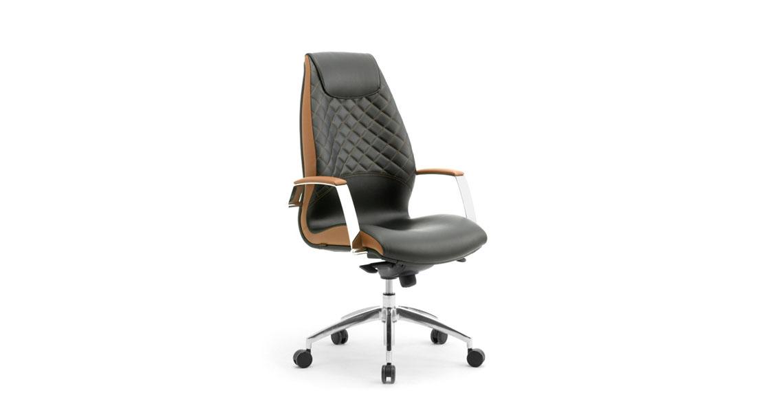 Poltrona per ufficio proffessionale e dirigenziale sedute - Sedie e poltrone ufficio ...