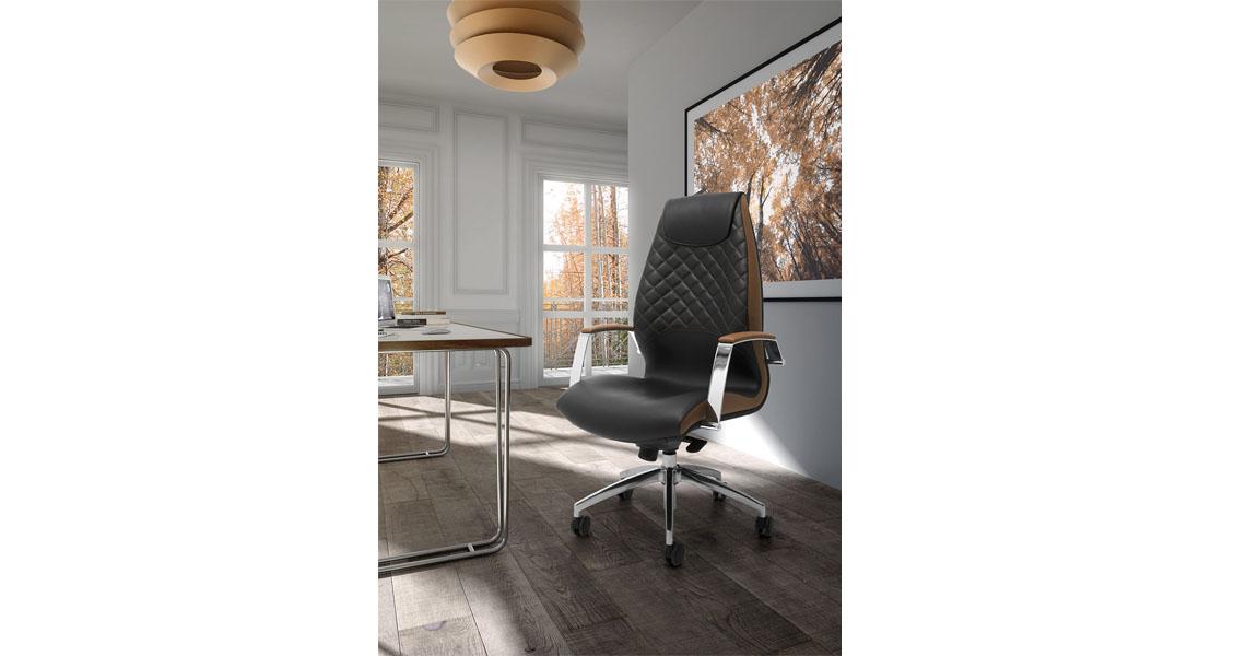 Poltrona per ufficio proffessionale e dirigenziale sedute for Poltrone ufficio prezzi