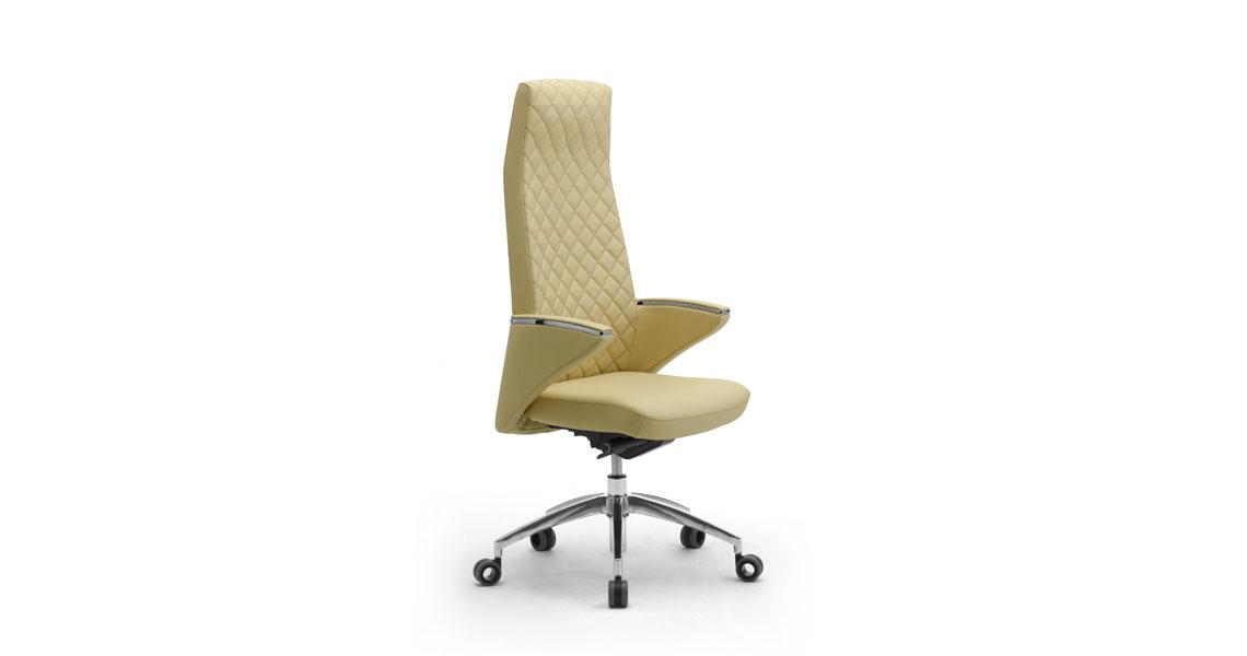 Poltrone Direzionali per ufficio e studio proffessionale, sedie presidenziali in pelle per ...