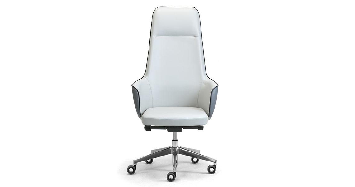 Sedie E Poltrone Ufficio.Sedie E Poltrone Girevoli Per Ufficio Direzionale Leyform