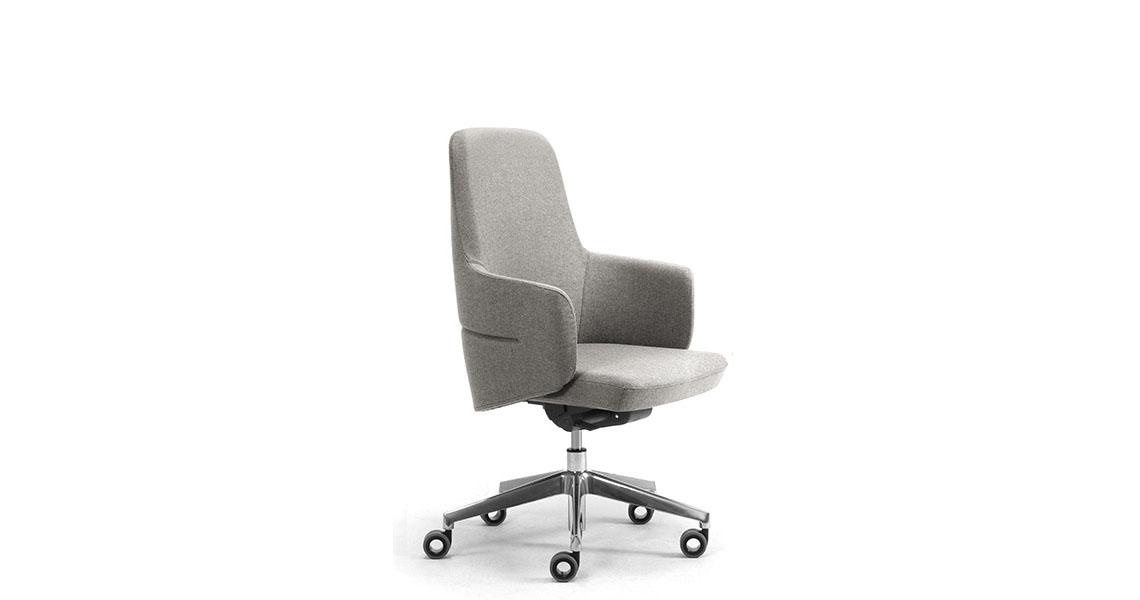 Sedie e poltrone girevoli per ufficio direzionale - Leyform