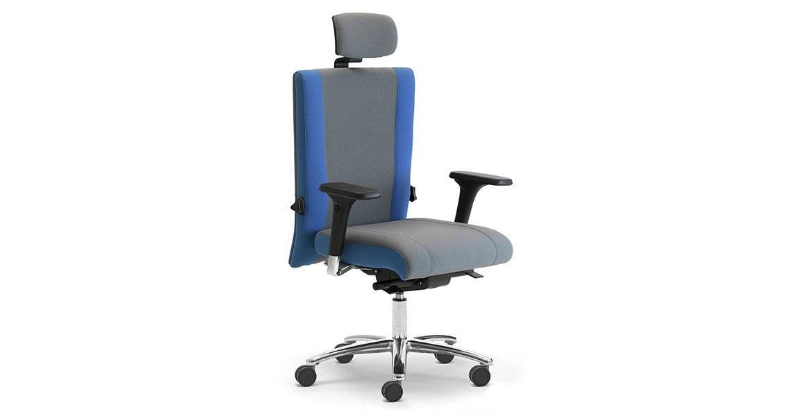 Sedia Lavoro Ergonomica.Sedie 24 Ore Per Turni Lavoro Sale Quadro Call Center Bs