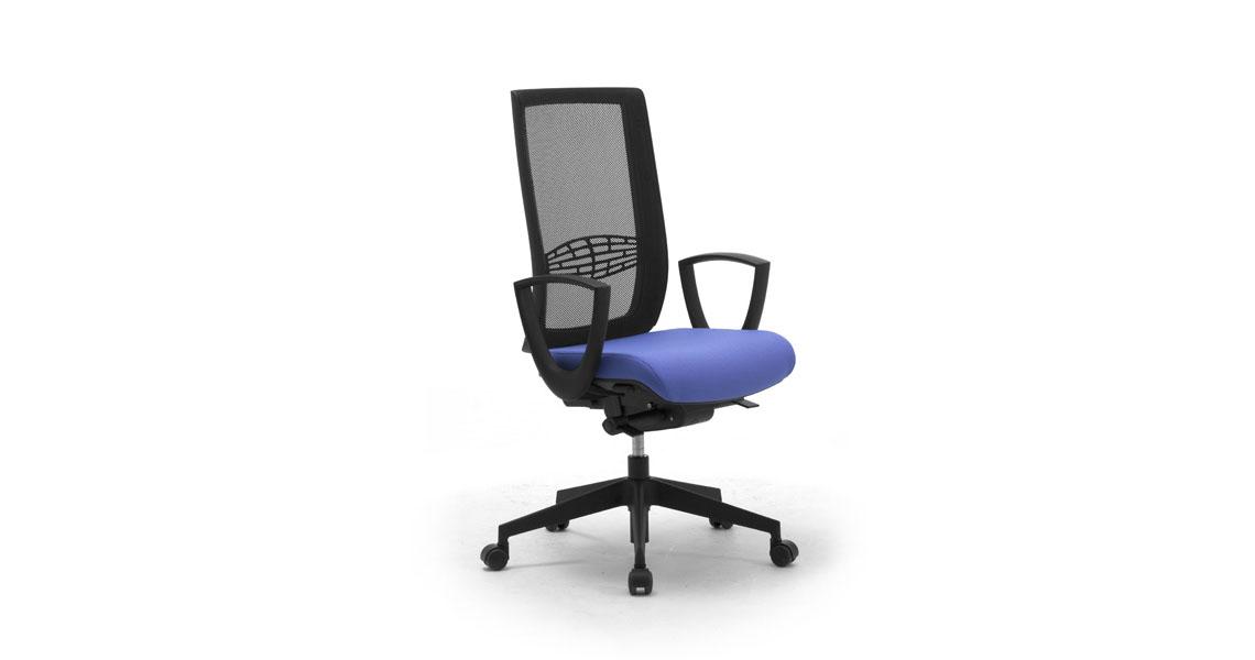 Sedie e poltrone ergonomiche per ufficio e workstation, sedie ufficio 626 dl 81 2008 - Leyform