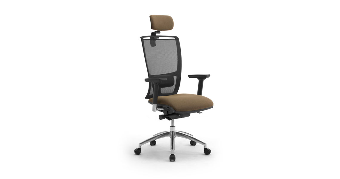 Sedie e sedute ergonomiche per ufficio con rete traspirante - Leyform